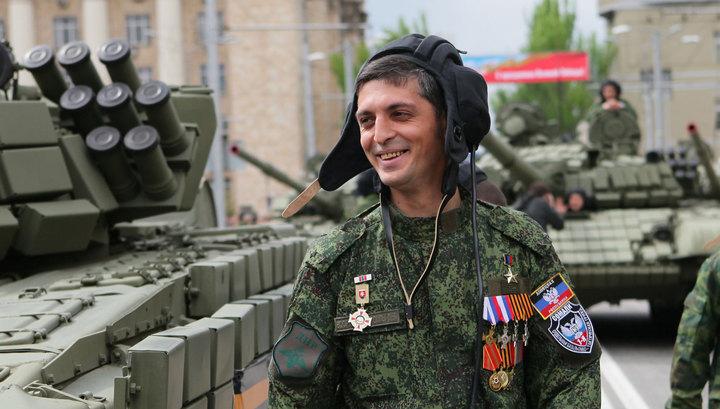 В Донецке убит командир ополчения Гиви